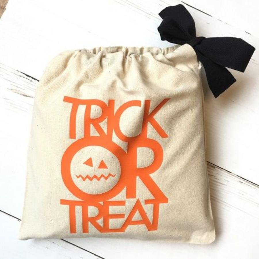 Candy bag'Trick or Treat' Halloween-1