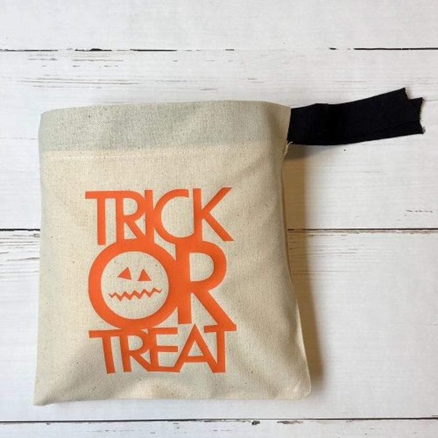 Candy bag'Trick or Treat' Halloween-2