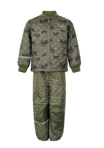 CeLaVi Children's thermo set with tractor print| 110-128