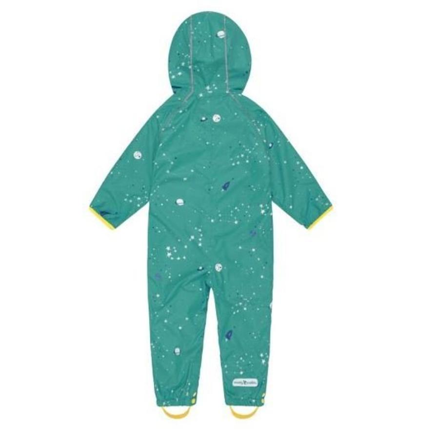 Lined, durable rain suit ECOSPLASH, Universe | 0-6 years-2