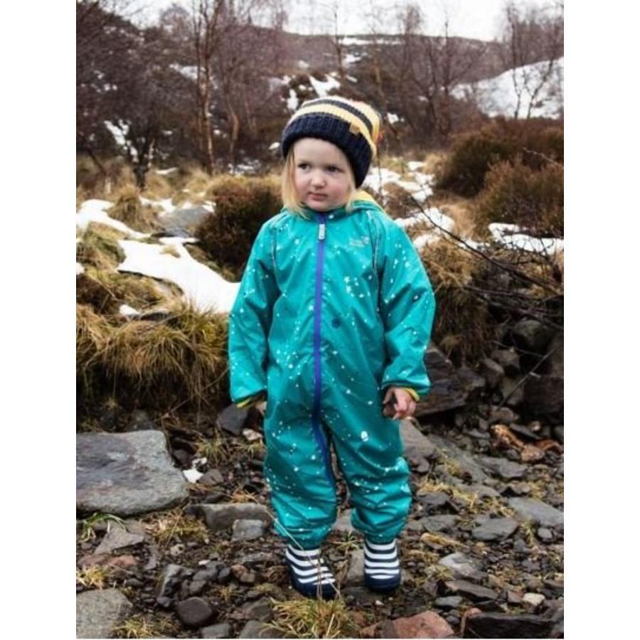 Gevoerd regenpak ECOSPLASH, Heelal| 0-6 jaar-3