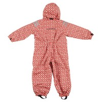 thumb-Durable children's rain suit Funky Red| 74-116-3