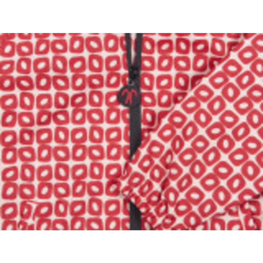 Durable children's rain suit Funky Red| 74-116-6