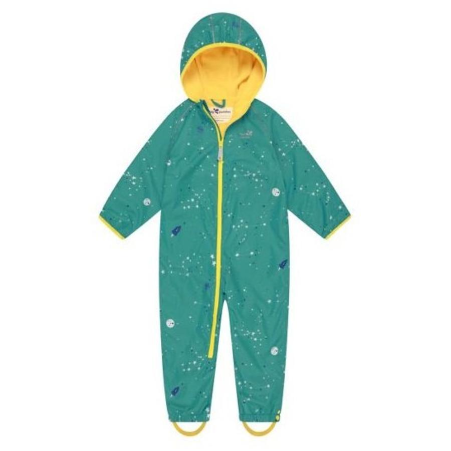 Lined, durable rain suit ECOSPLASH, Universe | 0-6 years-1