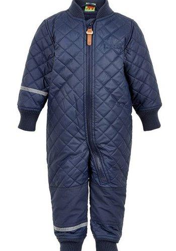 CeLaVi Water-repellent thermal overalls in dark blue
