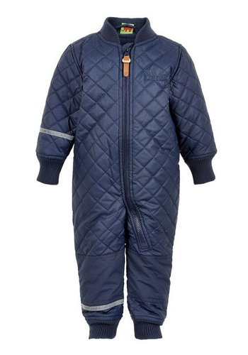 CeLaVi Water-repellent thermal overalls in dark blue