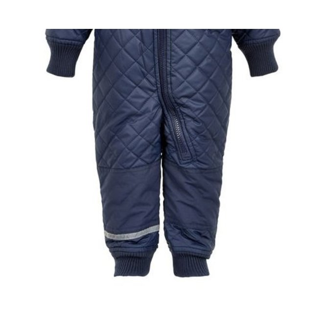 Water-repellent thermo children's overall - dark blue