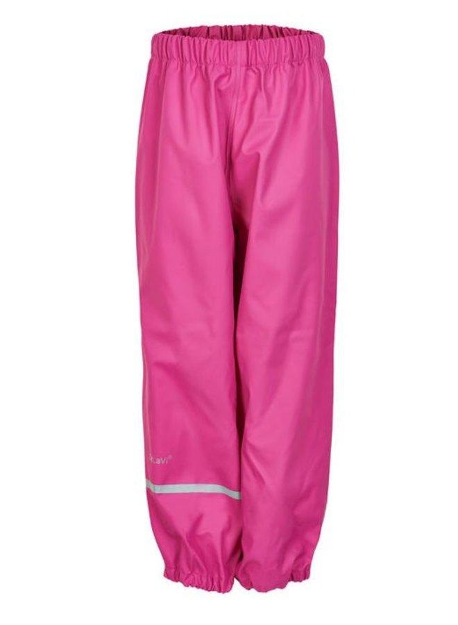Pink children's rain pants   110-140