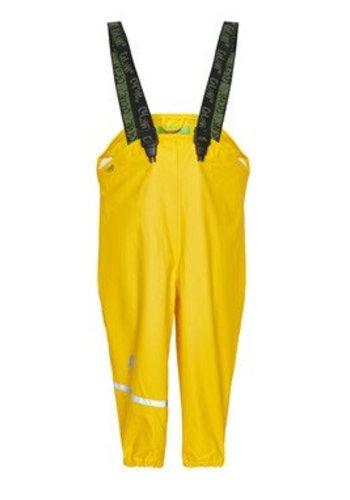CeLaVi Gele regenbroek met bretels | 70-100
