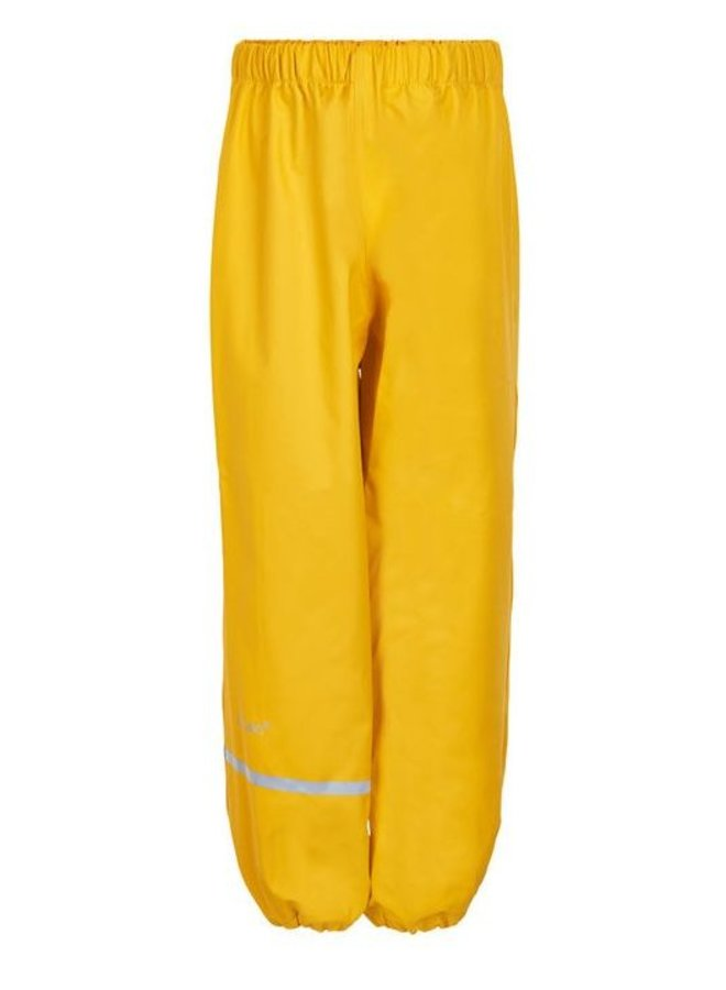 Sustainable children's rain pants yellow | 110-140