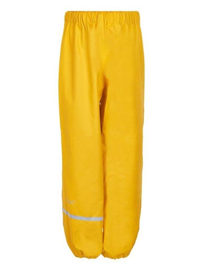 Yellow children's rain pants | 110-140