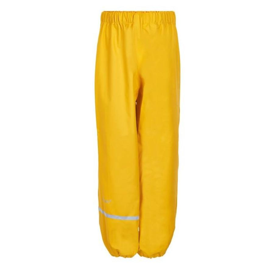 Sustainable children's rain pants yellow | 110-140-1