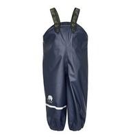 thumb-Navy children's rain pants with suspenders 70-100-1