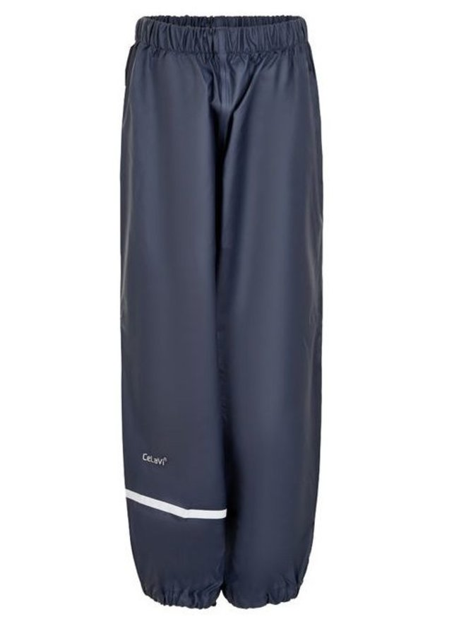 Dark blue children's rain pants | 110-140