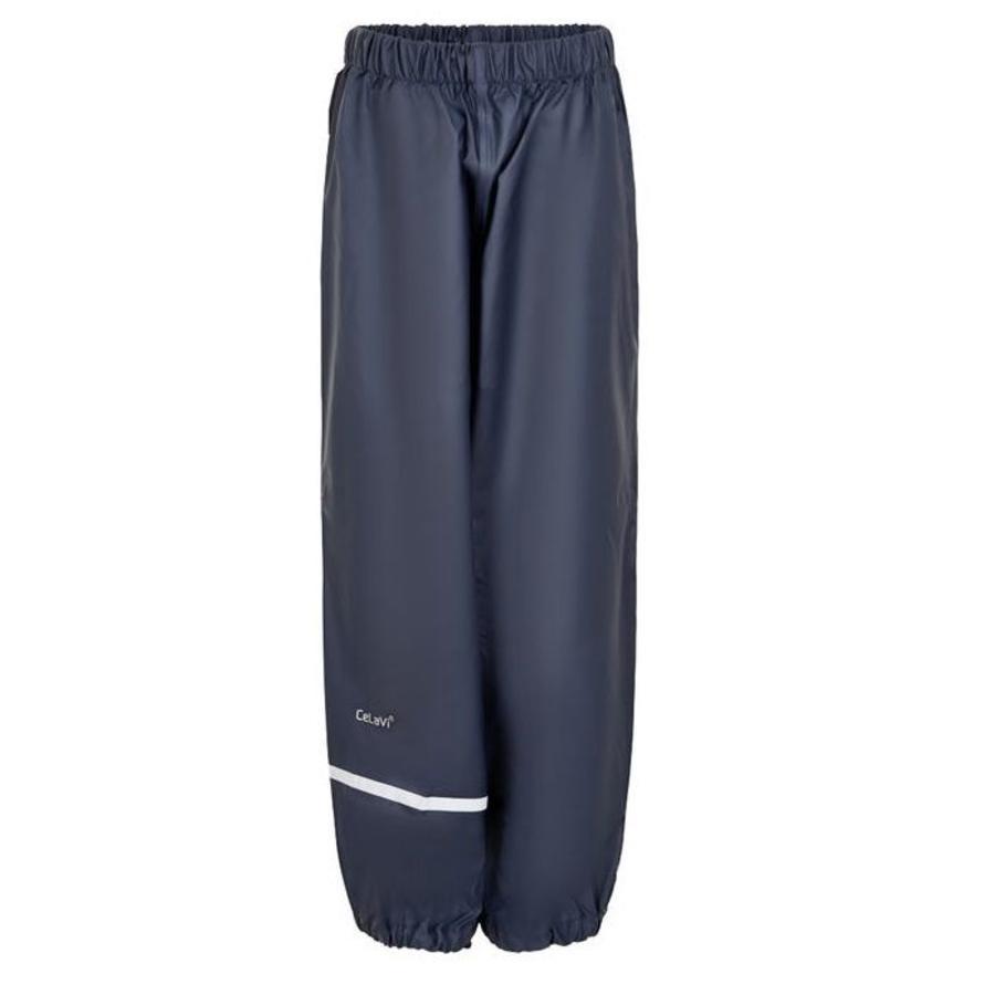 Dark blue children's rain pants 110-140-1