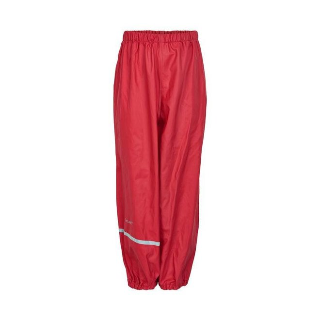 Red children's rain pants   110-140