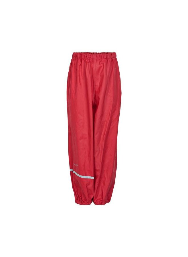 Red rain pants 110-140
