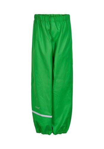 CeLaVi Lime green rain pants 110-140