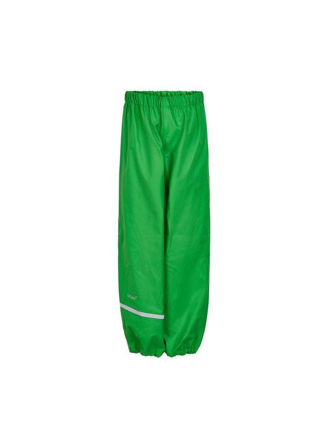 Lime green children's rain pants | 110-140