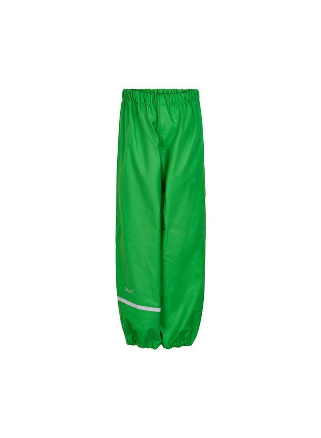 Lime green children's rain pants 110-140