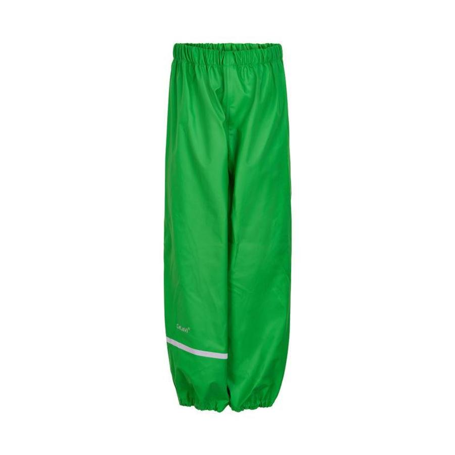 Lime green children's rain pants 110-140-1