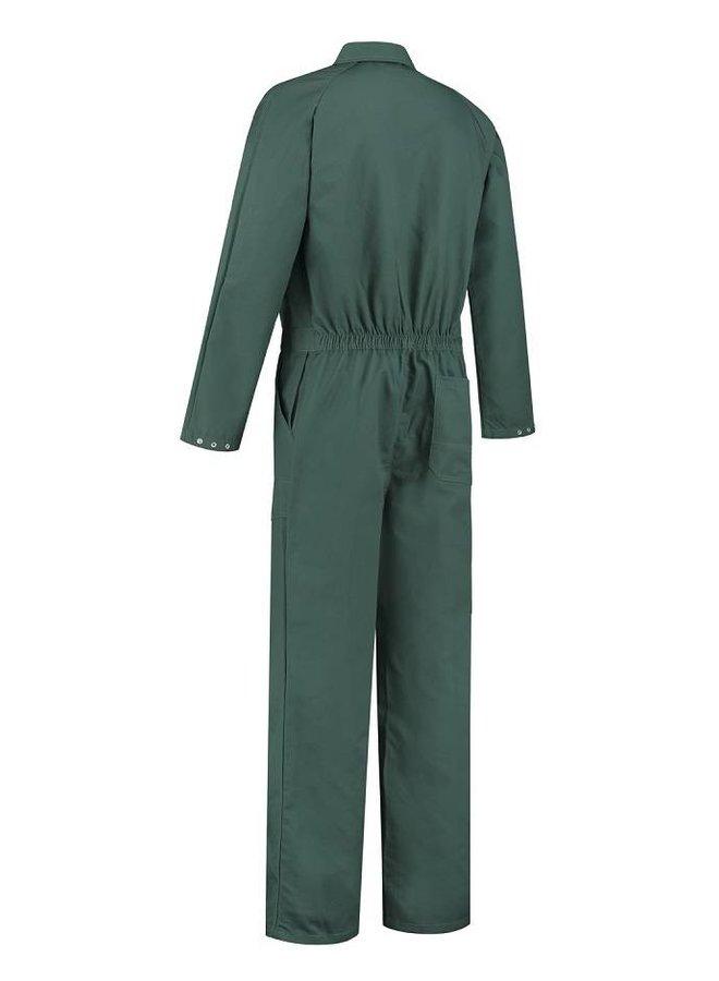 Donker groene overall voor dames en heren