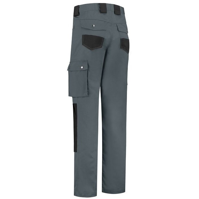 Basic work trousers, worker for children in gray / black