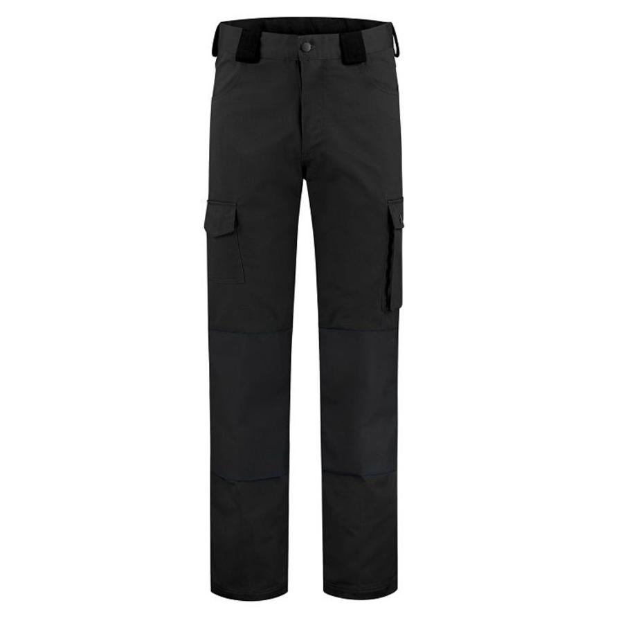 Basic work pants, worker for children in black-1