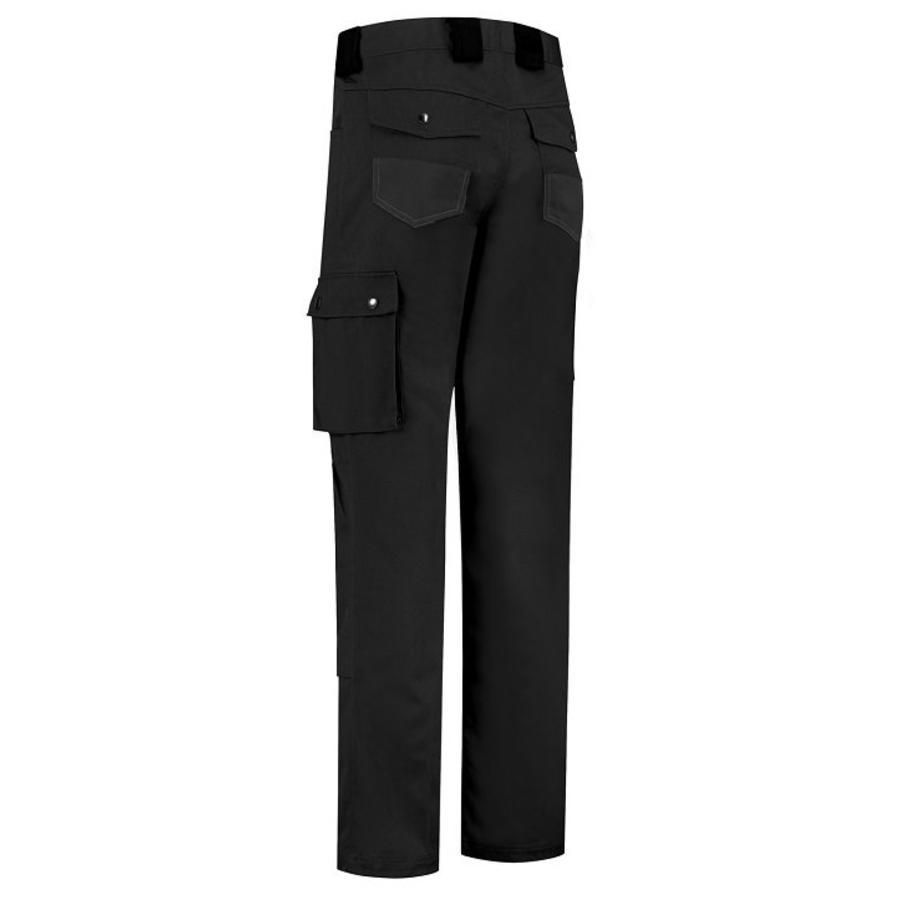 Basic work pants, worker for children in black-2