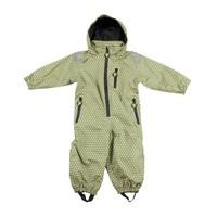 thumb-Durable children's rain suit - Funky Green-2