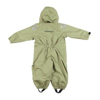 thumb-Durable children's rain suit - Funky Green-3