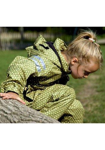 Ducksday buitenkleding Duurzaam regenpak  - Funky Green| 74-116