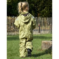 thumb-Durable children's rain suit - Funky Green-4
