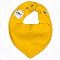 thumb-Drool bib, bandana bib yellow-1