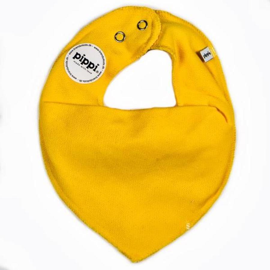 Drool bib, bandana bib yellow-1