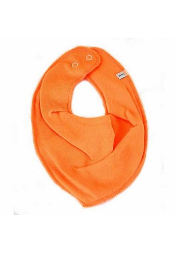 PiPi Drool bib, orange bandana