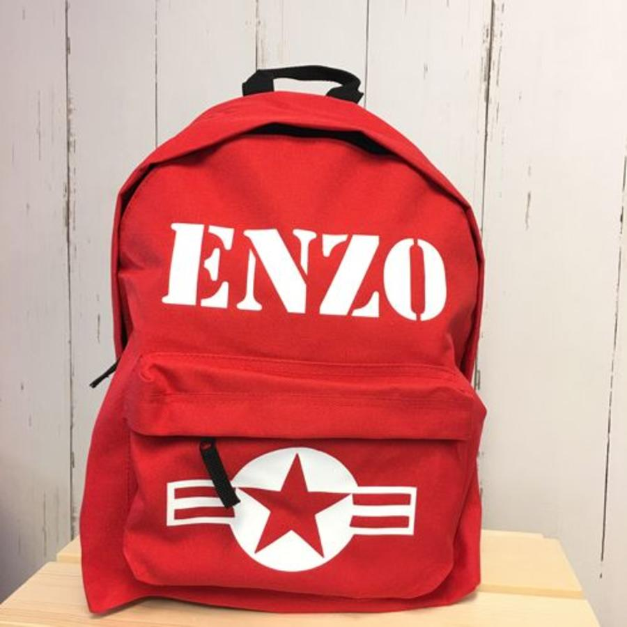 Backpack Stars & Stripes with name print-4