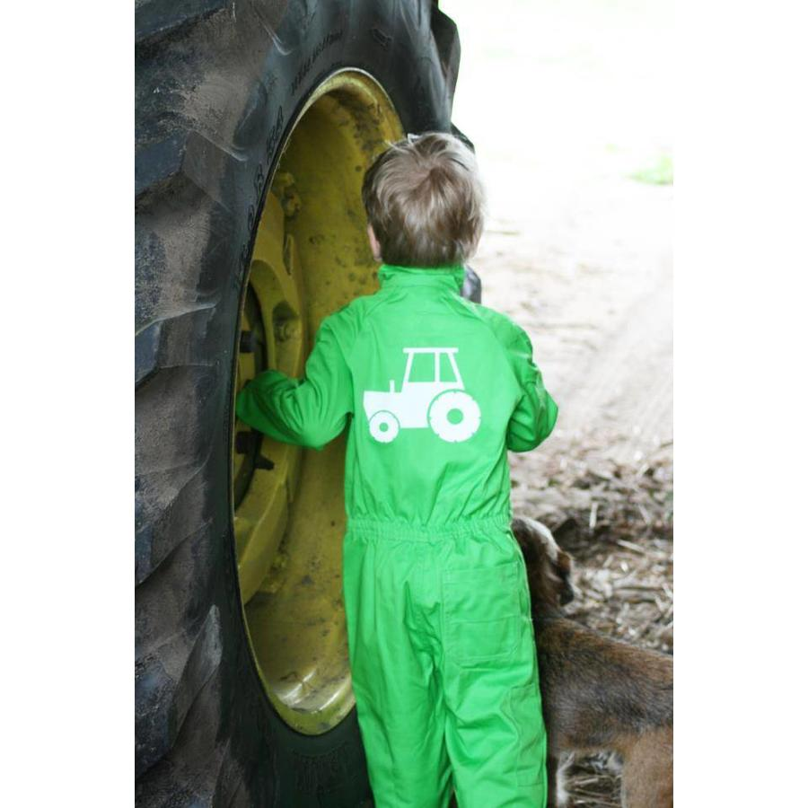Overall with tractor, tractor-1