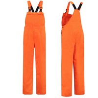 Orange dungarees M / V for garden and carnival