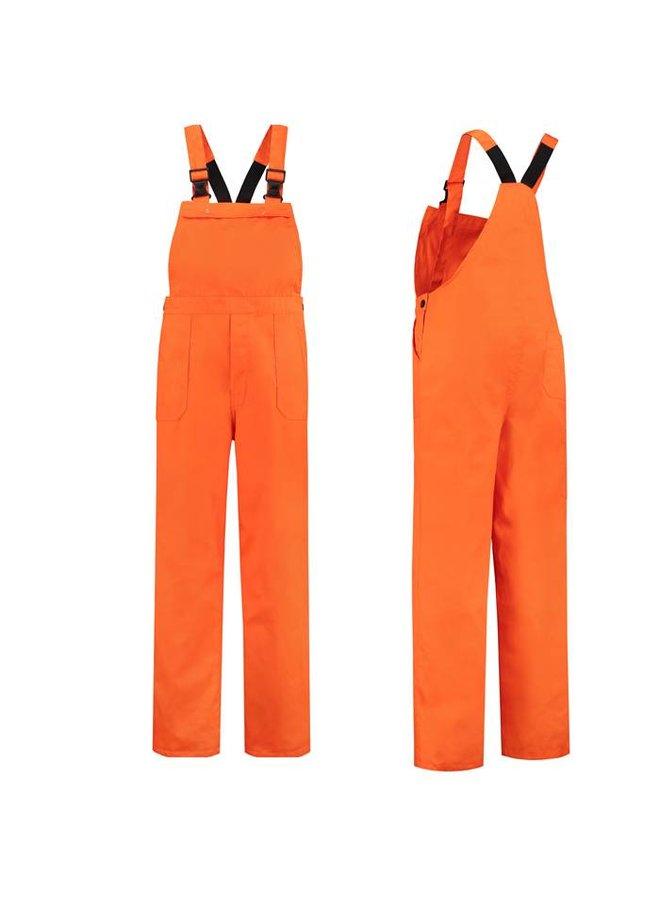 Oranje tuinbroek   unisex model   dames en heren