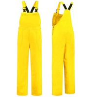 Yellow dungarees M / V for garden and carnival