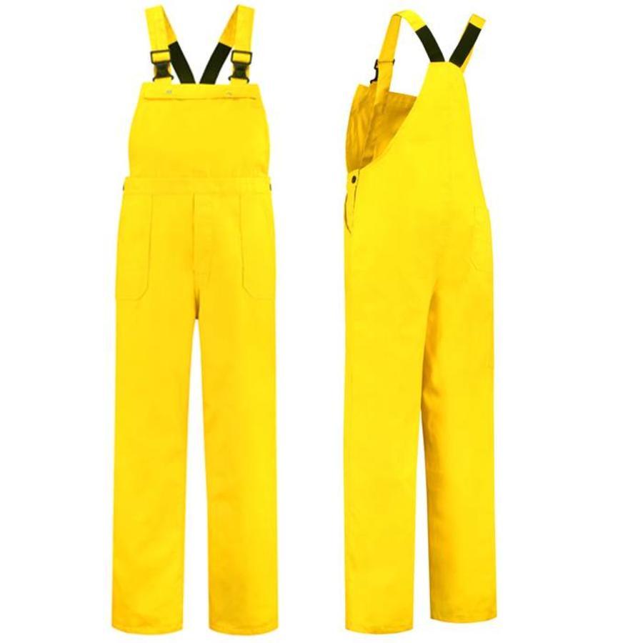 Gele tuinbroek M/V voor tuin en carnaval-1