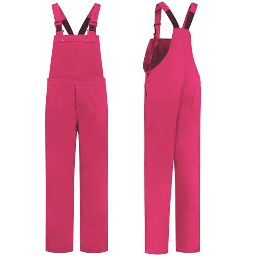 Fuchsia pink dungarees M / V for garden and carnival-1