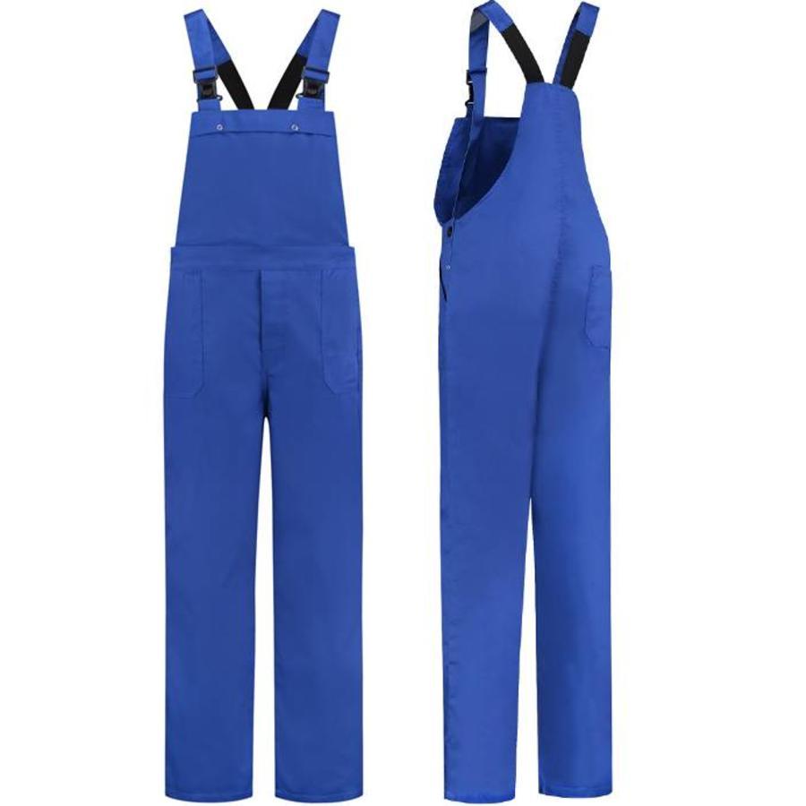 Koren blauwe tuinbroek M/V voor tuin en carnaval-1