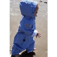 thumb-Duurzaam kinderregenpak Funky Blue| 74-116-2