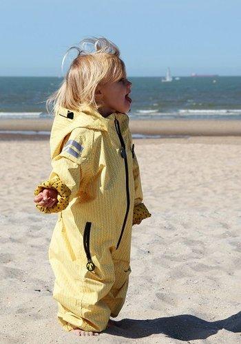 Ducksday  Durable rain suit - Yellow Falcon | 74-116