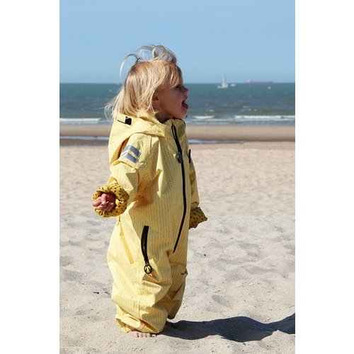 Ducksday  Duurzaam regenpak  - Yellow Falcon| 74-116