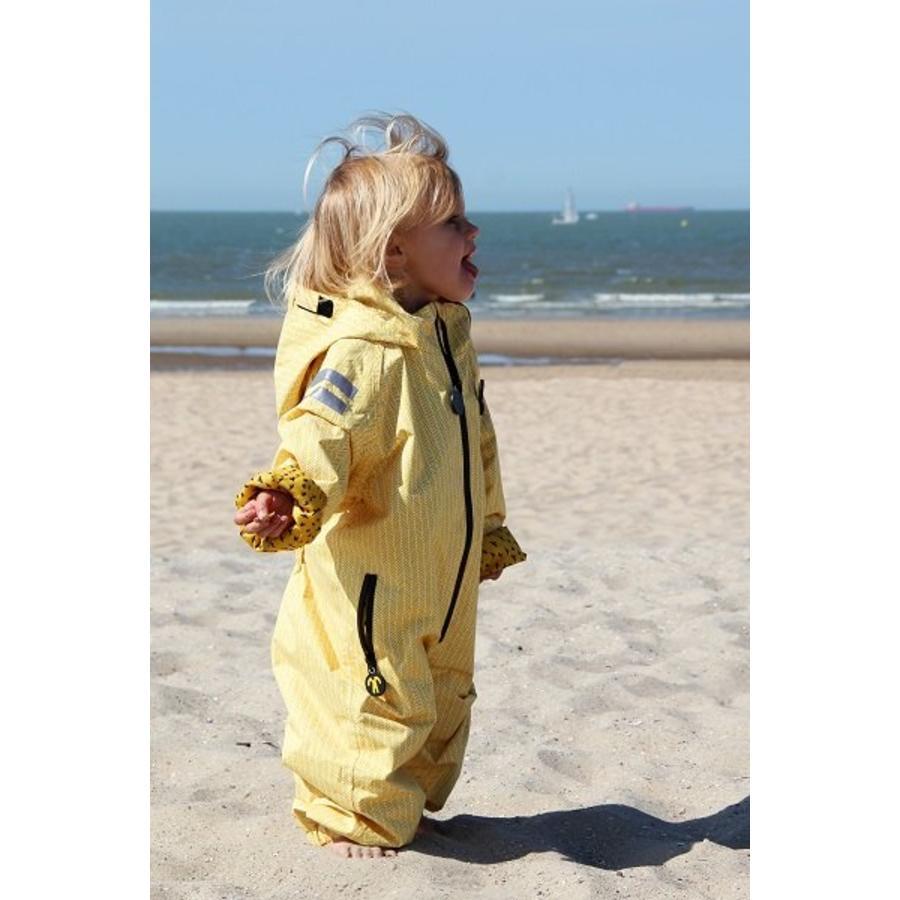 Duurzaam kinderregenpak Yellow Falcon| 74-116-1