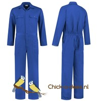 thumb-Children's overall red or royal blue-5