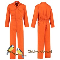 thumb-Orange overalls with name or text printing-2